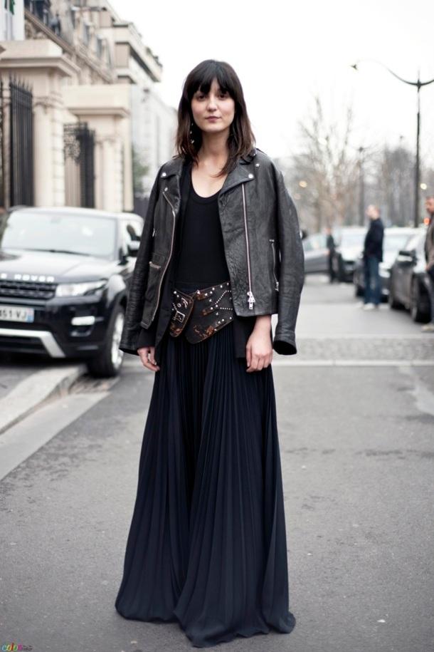 black-maxi-skirt