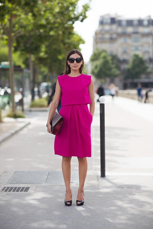 bright-pink-dress