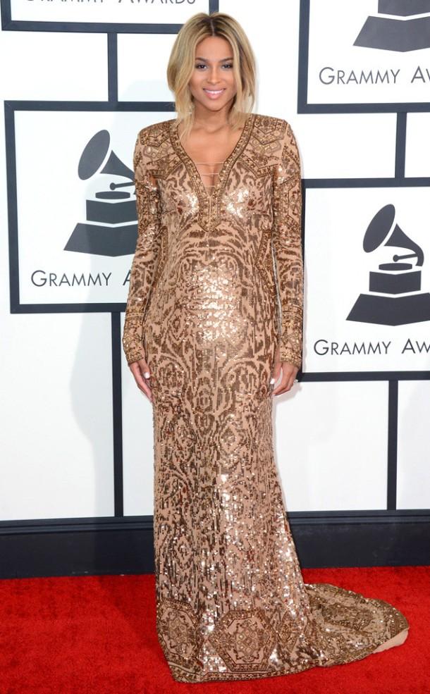 ciara-2014-Grammy-red-carpet-dresses