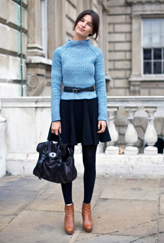 fitted--sweater-streetstyle