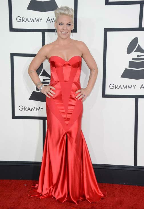 pink-2014-Grammy-red-carpet-dresses
