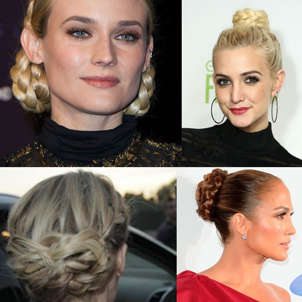 pleated-buns-hairstyle-tren