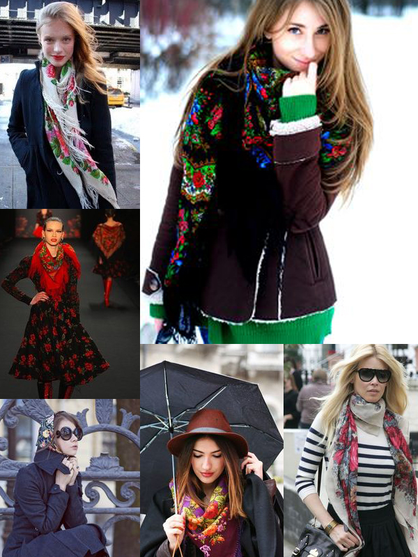 Russian-silk-scarves