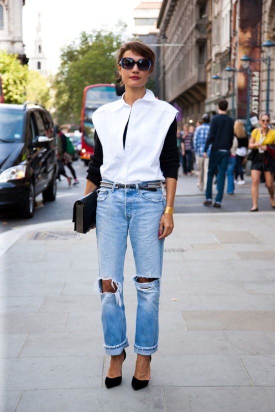 street-style-Ripped-Jeans
