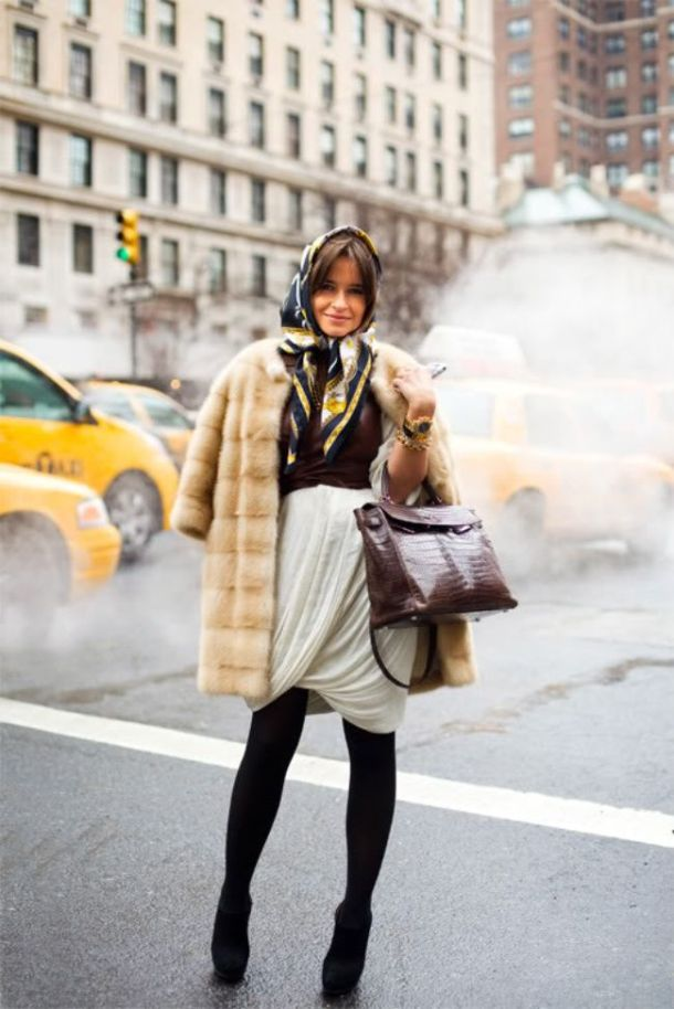 street-style-Russian-scarves
