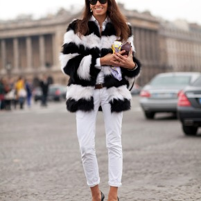 White Jeans In Winter. What Do YouThink?