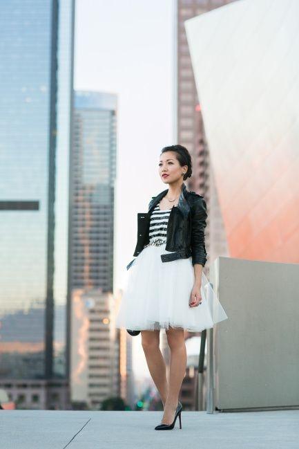 Wendys Lookbook Tulle Skirt Streetstyle Fashion