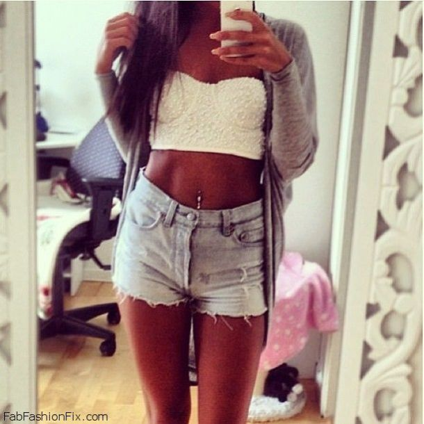 cropped-bustier-and-cutoffs