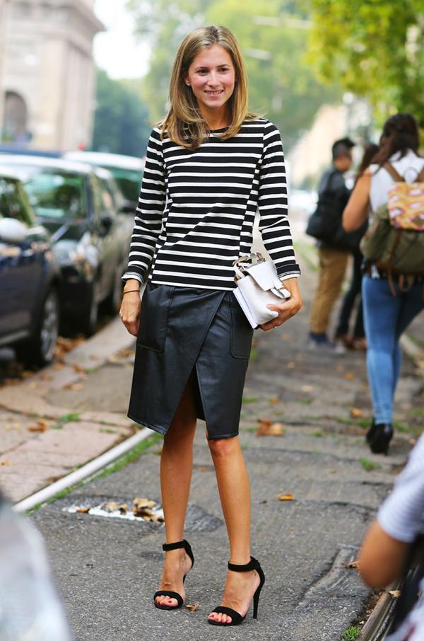 black-and-white-thin-horizintal-stripes-look
