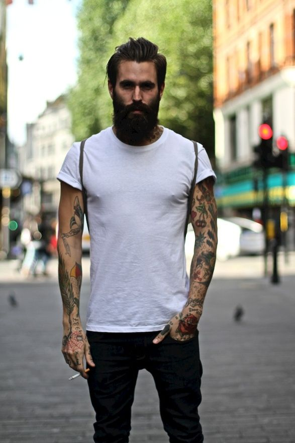 full-beard-street-style-men
