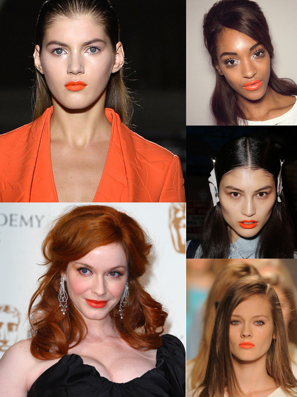 make-up-orange-lips