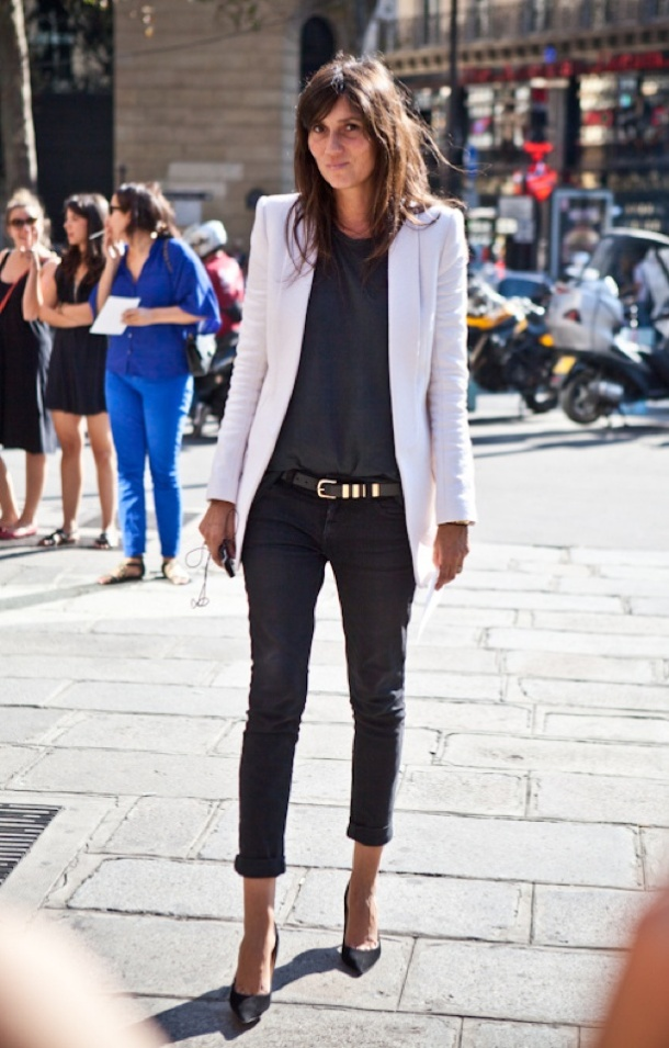 Paris Fashion Week September 2011, Emmanuelle Alt
