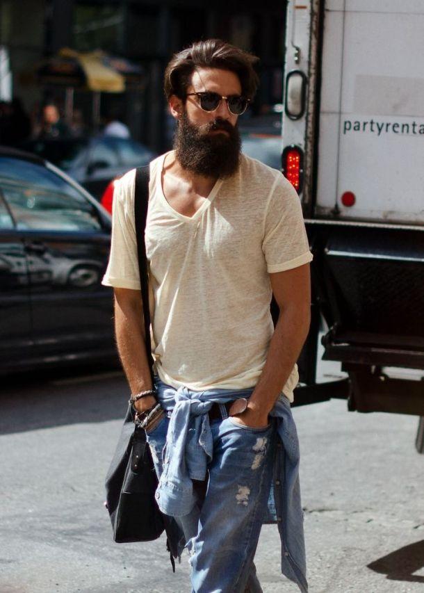 street-style-men-with-beards
