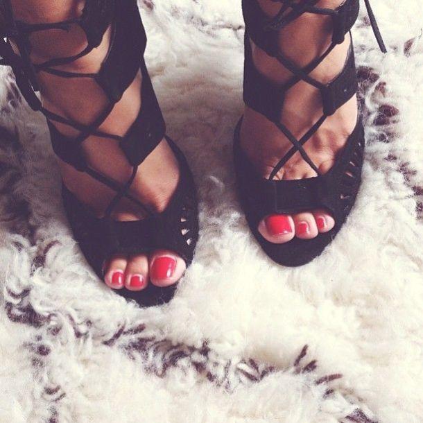 black-lace-up-stilettos
