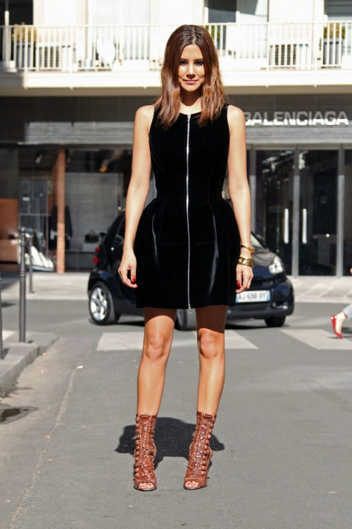 black-structured-spring-dresses-street-style