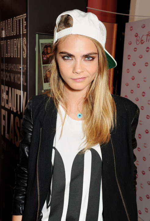 Cara Delevingne Closes 'Charlotte Tilbury's House of Rock n'Kohl' at Selfridges