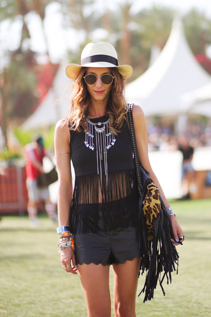 coachella 2014 street style all black Is Coachella This Summers Fashion Preview?