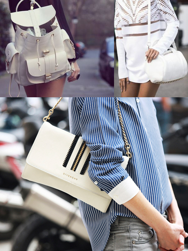 fashion crush white bags Are WHITE BAGS Back In Style?