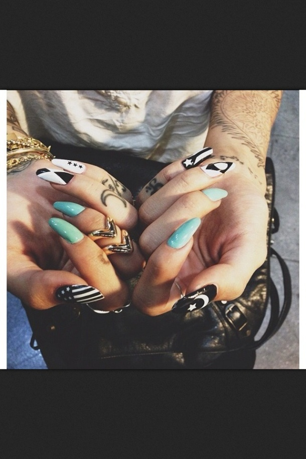 funky-nails