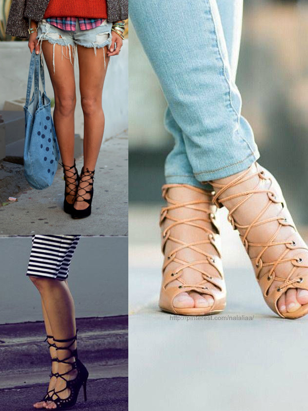 This Summer&39s Hottest Shoes: The LACE-UP HEELS  Fashion Tag Blog