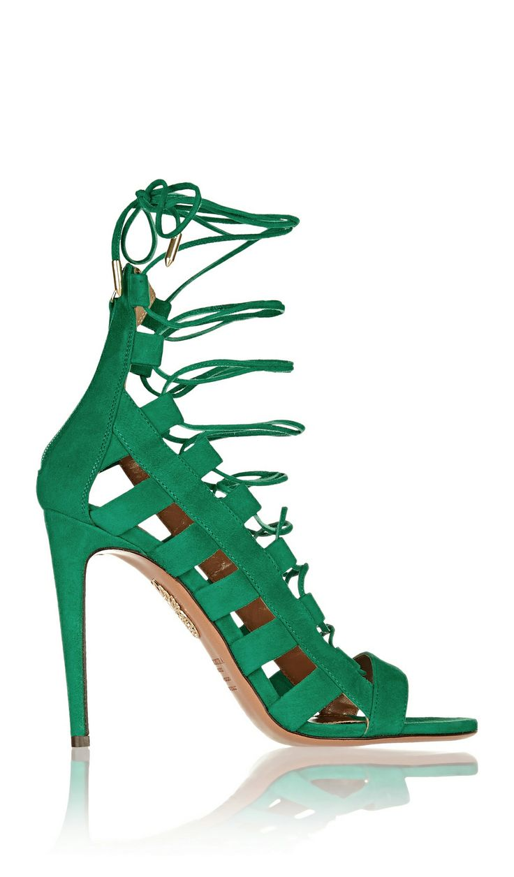 lace ups 2 This Summers Hottest Shoes: The LACE UP HEELS