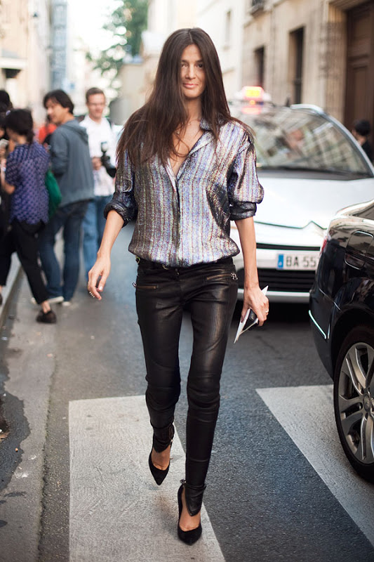 metallic-shirt-streetstyle