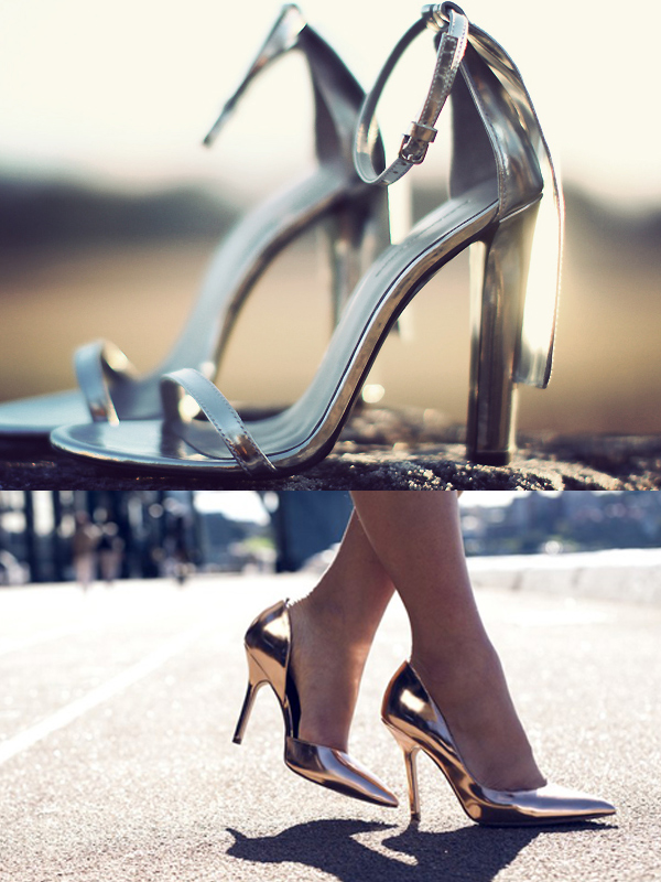 metallic-shoes-heels