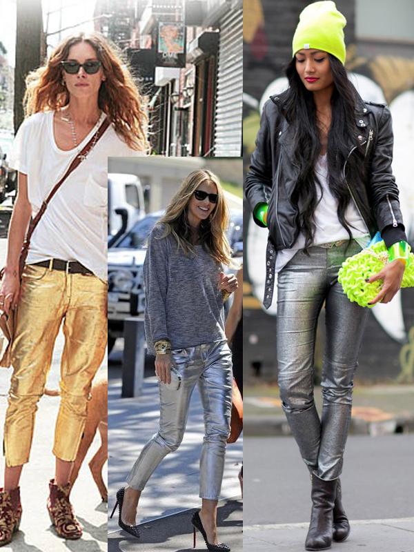 metallic-trousers