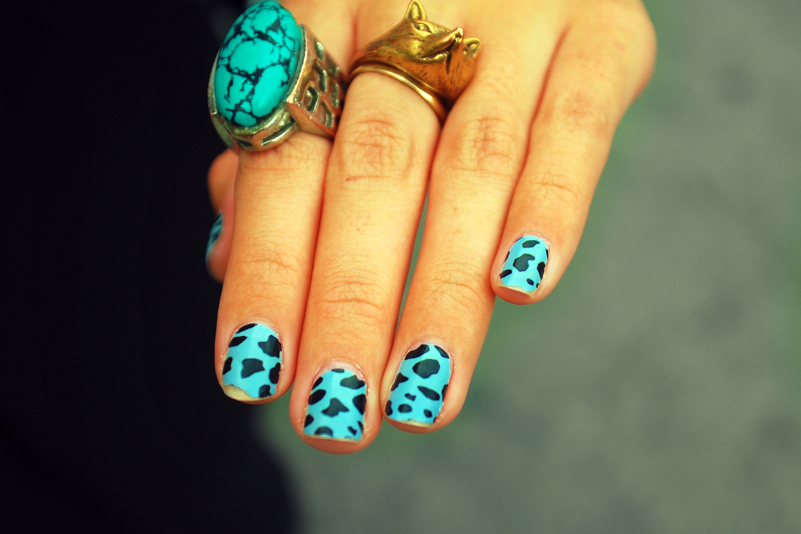 nail-art-2014-animal-print-nails