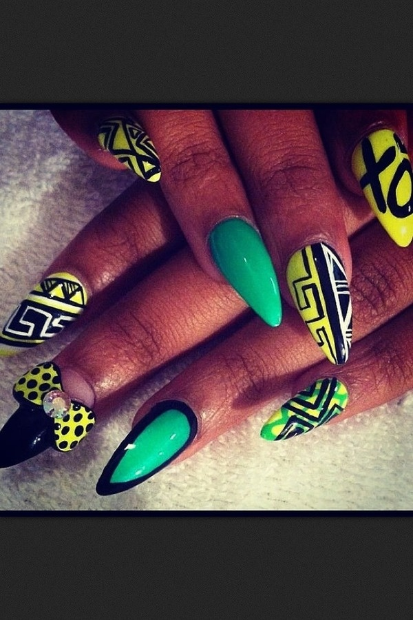 Nails Art 2014 Oval