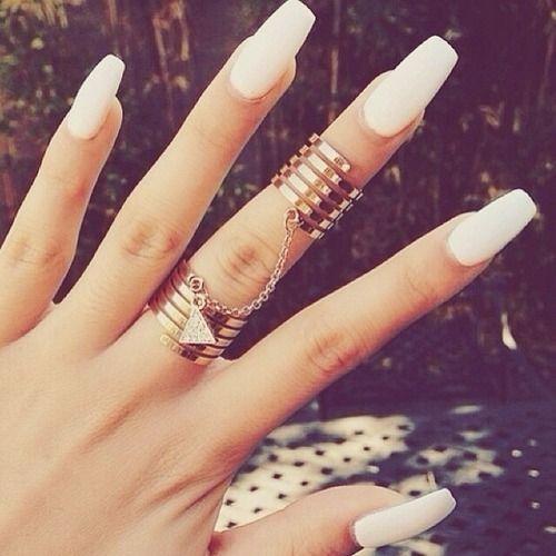 Nail-trend-matte-white
