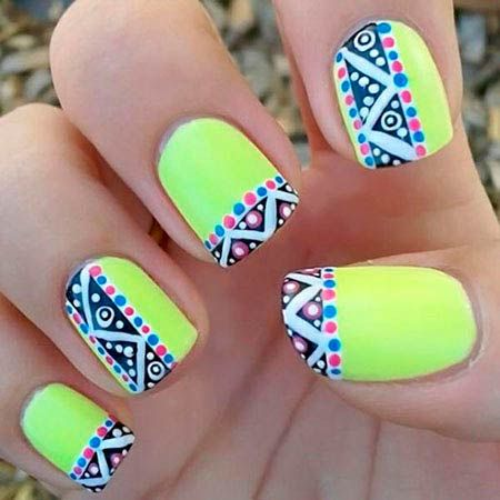 Summer nails the fashion tag blog nailart 2014 trend prinsesfo Choice Image