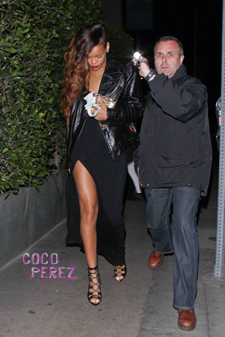 rihanna-slit-dress