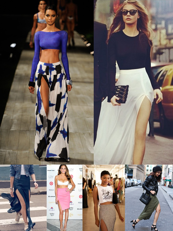 slit skirts styles The SLIT Is Back!