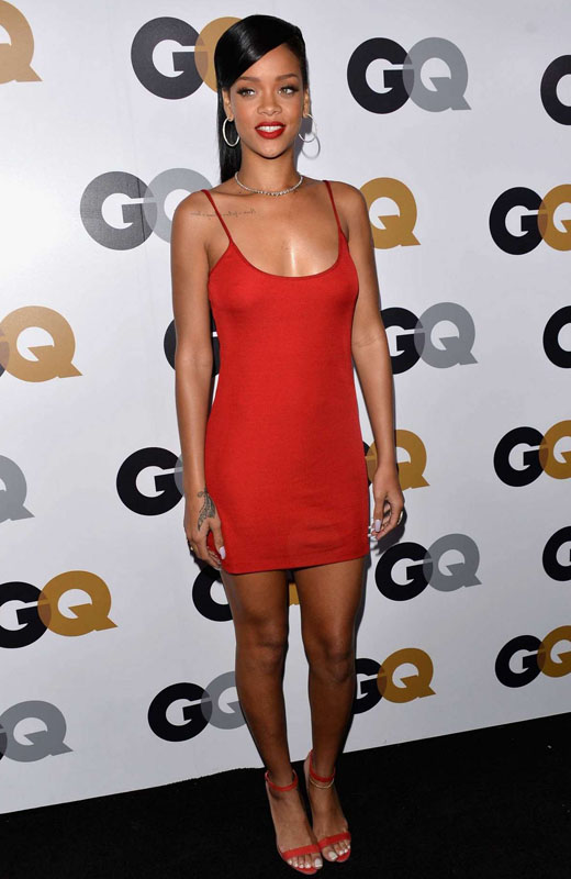spaghetti-strap-cami-dress-rihanna