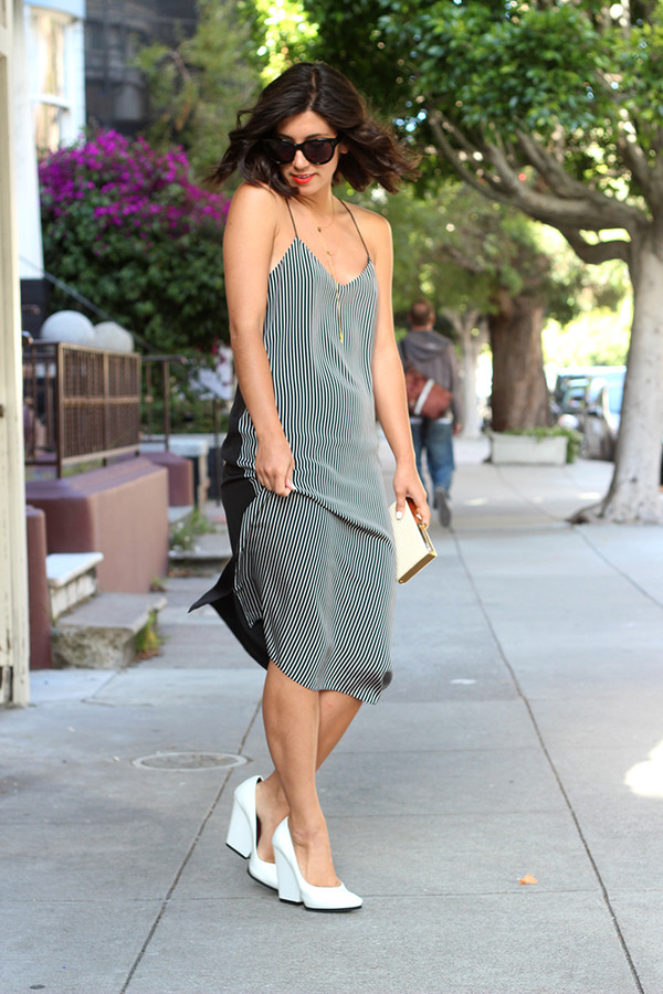 spaghetti-strap-dress-streetstyle