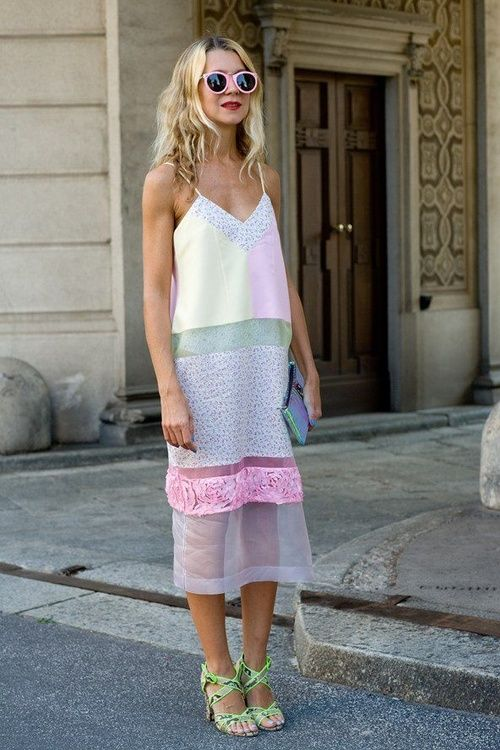 street-style-spaghetti-straps-dress