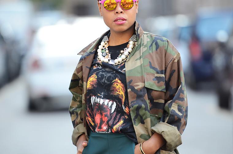 streetstyle-mirrored-sunglasses-look
