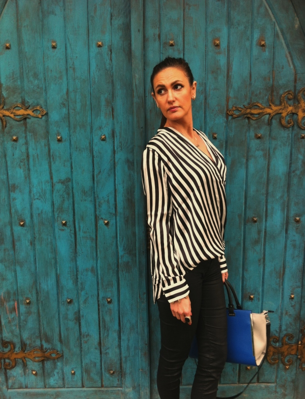 stripes-blouse-look