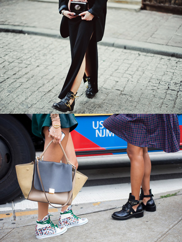 summer street style cutout Cut Out Booties For Spring