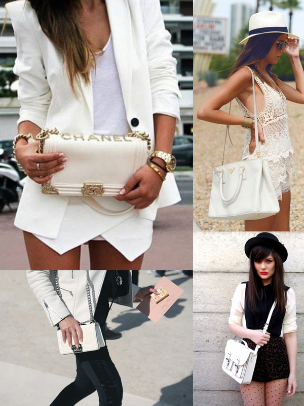 trend alert white handbags Are WHITE BAGS Back In Style?