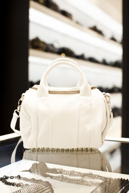 white-bags