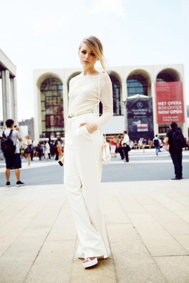 all-white-street-style