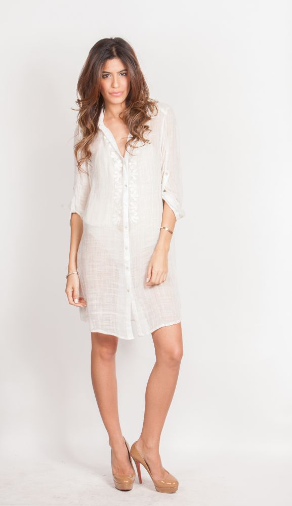button down dress summer trend 2 The Button Down Trend: YES Or NO?