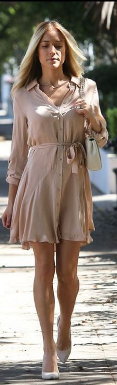 button down dress summer trend 6 The Button Down Trend: YES Or NO?