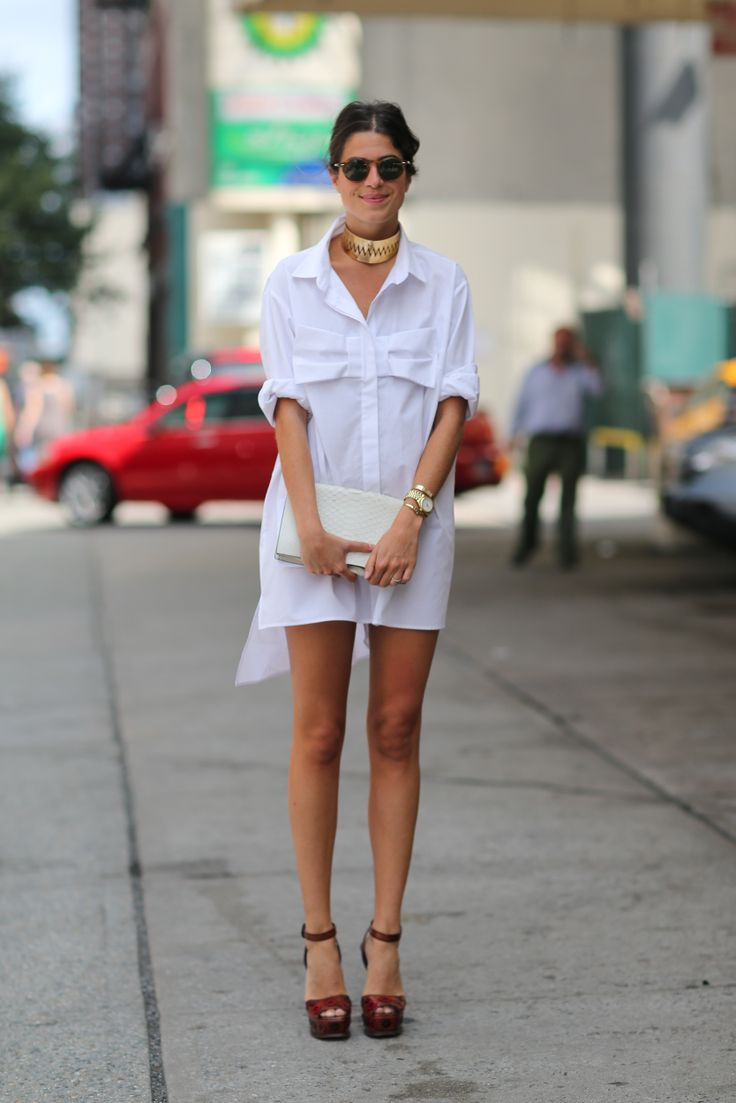 button down dress summer trend 8 The Button Down Trend: YES Or NO?