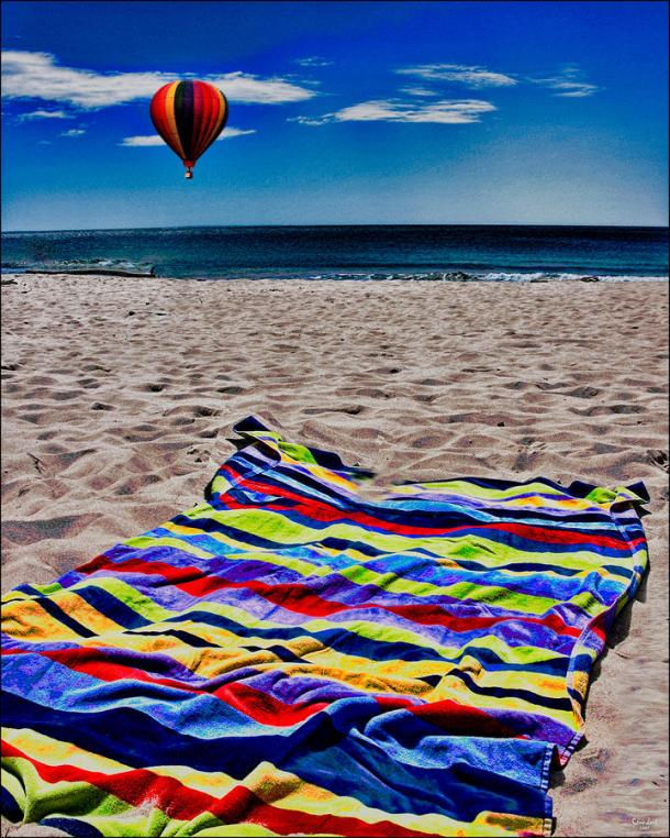 colored-beach-towels