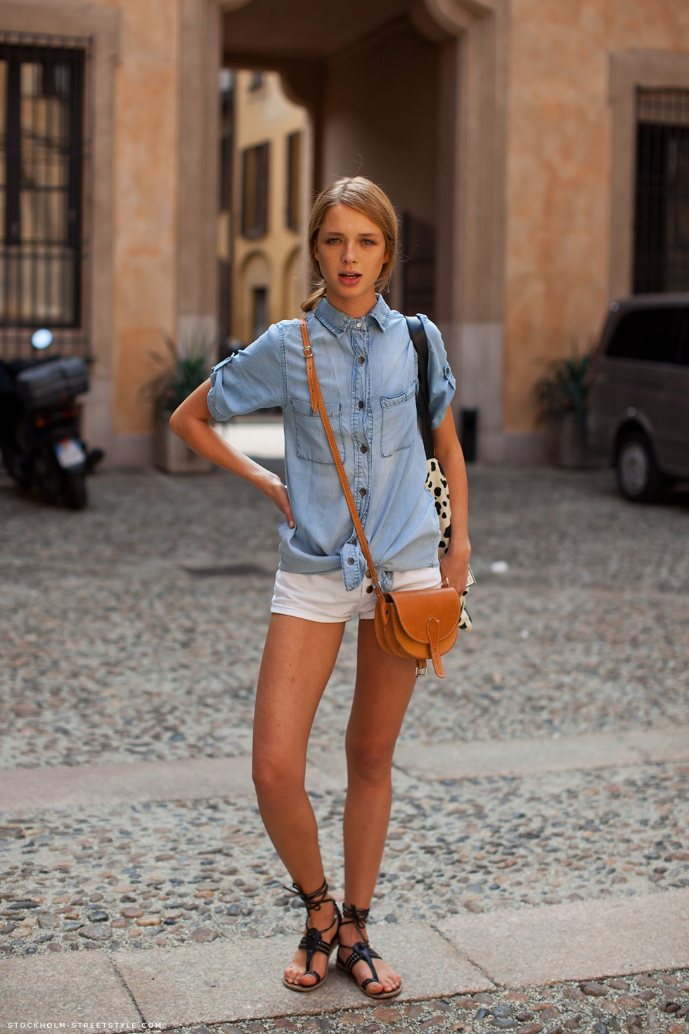 denim button down shirt The Button Down Trend: YES Or NO?