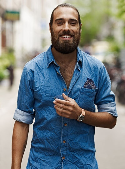denim-shirt-men-street-style
