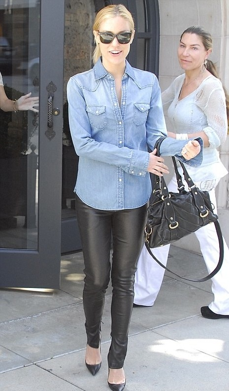 denim shirts kristin cavallari The Button Down Trend: YES Or NO?